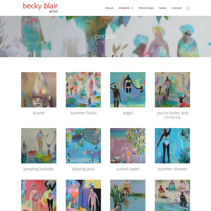 Becky Blair Artist
