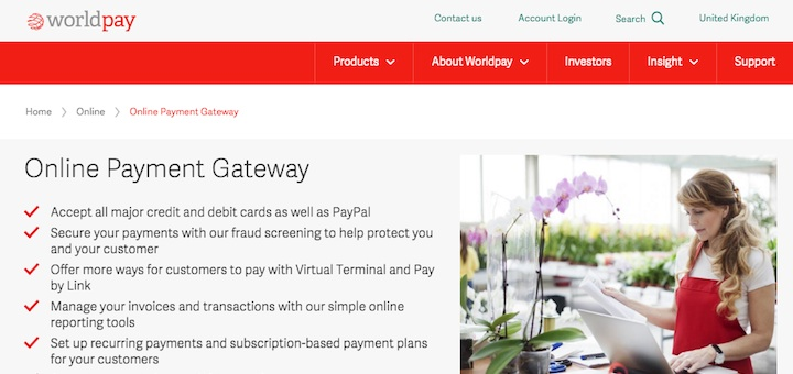 WorldPay Business Gateway for OpenCart 2.x